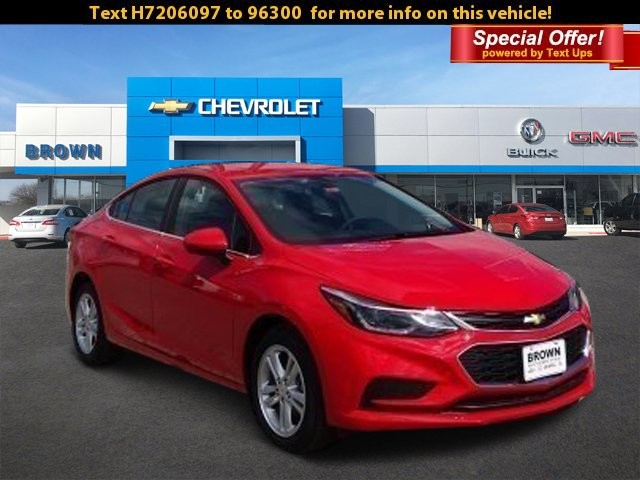 New 2017 Chevrolet Cruze 4dr Sdn 1.4L LT w/1SD