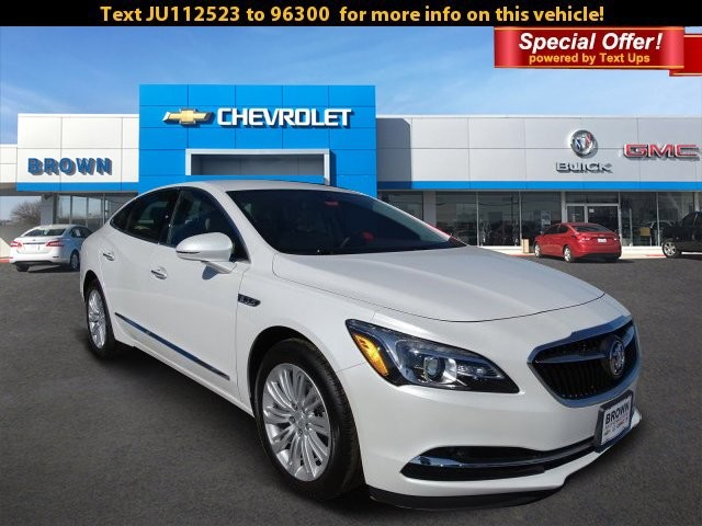 New 2018 Buick LaCrosse 4dr Sdn Preferred FWD