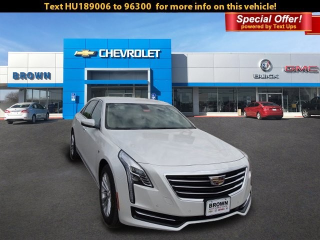 New 2017 Cadillac CT6 Sedan 4dr Sdn 2.0L Turbo RWD
