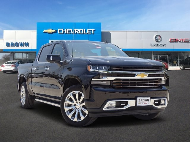 New 2019 Chevrolet Silverado 1500 4WD Crew Cab 147 High Country
