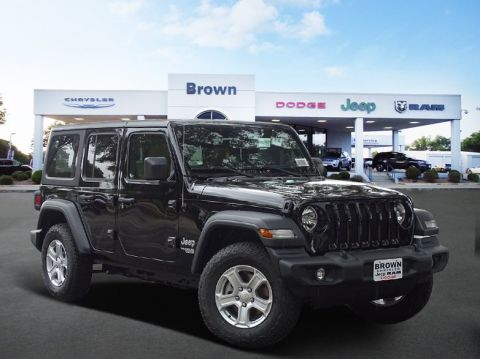New 2018 Jeep Wrangler Unlimited Sport S 4WD