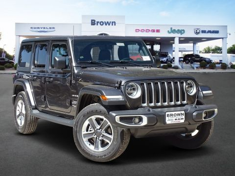 New 2019 Jeep Wrangler Unlimited Sahara With Navigation & 4WD