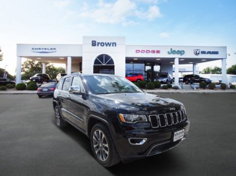New 2018 Jeep Grand Cherokee Limited RWD Sport Utility