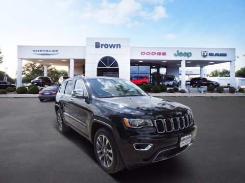 Pre-Owned 2018 Jeep Grand Cherokee Limited RWD Sport Utility