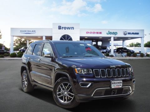 New 2018 Jeep Grand Cherokee Limited With Navigation