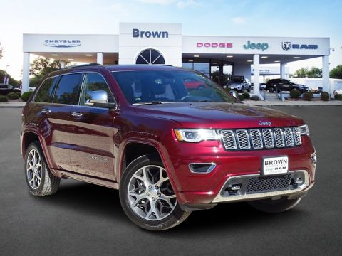 Pre-Owned 2019 Jeep Grand Cherokee Overland 4WD