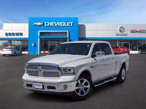 Pre-Owned 2018 Ram 1500 Laramie Four Wheel Drive Standard Bed