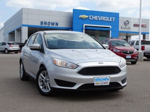 Pre-Owned 2017 Ford Focus SE Hatch Front Wheel Drive Hatchback