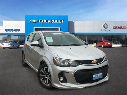 Pre-Owned 2017 Chevrolet Sonic LT Front Wheel Drive Hatchback