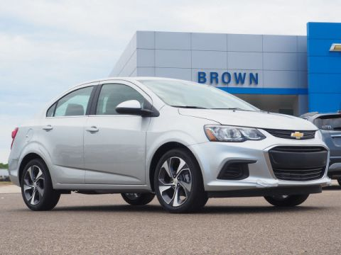 Pre-Owned 2020 Chevrolet Sonic 4dr Sdn Premier Front Wheel Drive 4dr Car