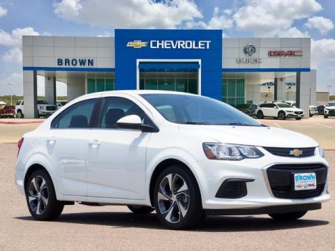 New 2020 Chevrolet Sonic 4dr Sdn Premier Front Wheel Drive 4dr Car