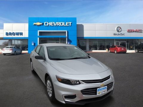 New 2017 Chevrolet Malibu 4dr Sdn L w/1VL Front Wheel Drive 4dr Car