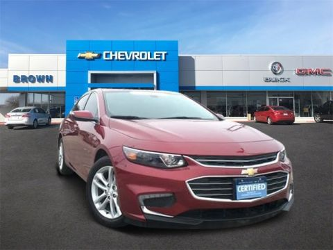 Pre-Owned 2018 Chevrolet Malibu LT Front Wheel Drive 4dr Car