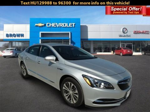 New 2017 Buick LaCrosse Preferred Front Wheel Drive 4dr Car