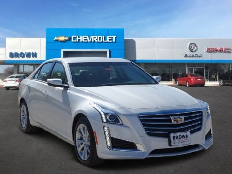 New 2019 Cadillac CTS Sedan 4dr Sdn 2.0L Turbo RWD Rear Wheel Drive 4dr Car