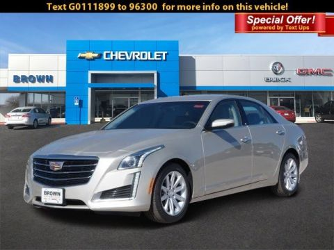 New 2016 Cadillac CTS Sedan RWD Rear Wheel Drive Sedan