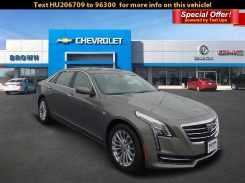 New 2017 Cadillac CT6 Sedan 4dr Sdn 2.0L Turbo RWD Rear Wheel Drive 4dr Car