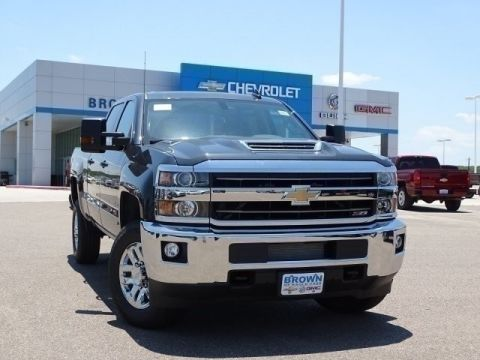 New 2019 Chevrolet Silverado 2500HD 4WD Crew Cab 153.7 LT Four Wheel Drive Standard Bed