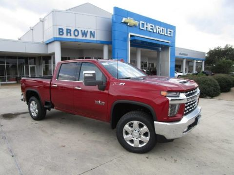 New 2020 Chevrolet Silverado 2500HD SILVERADO 2500 4WD LTZ CREW Four Wheel Drive Standard Bed