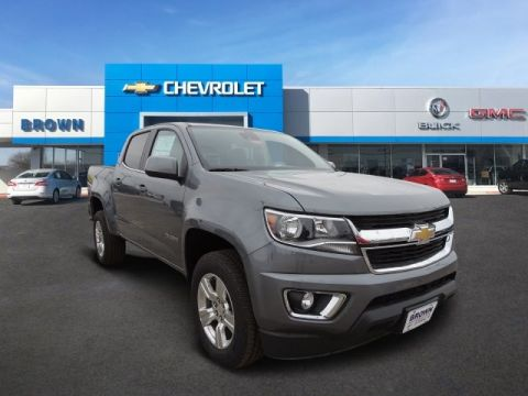 New 2019 Chevrolet Colorado 4WD Crew Cab 128.3 LT Four Wheel Drive Short Bed
