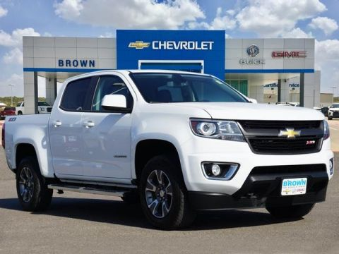 Pre-Owned 2017 Chevrolet Colorado 4WD Crew Cab 128.3 Z71 Four Wheel Drive Short Bed