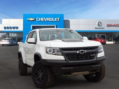 New 2019 Chevrolet Colorado 4WD Crew Cab 128.3 ZR2 Four Wheel Drive Short Bed