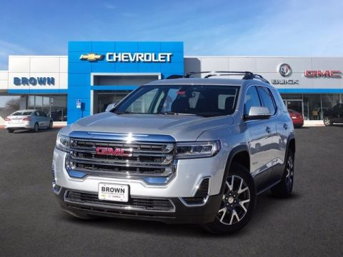 New 2020 GMC Acadia SLE Front Wheel Drive SUV