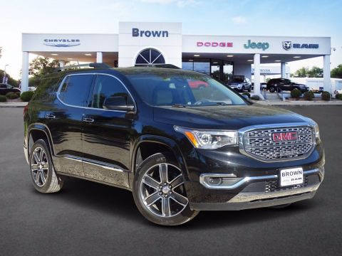 Pre-Owned 2018 GMC Acadia Denali FWD Sport Utility