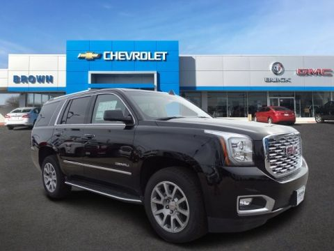 New 2018 GMC Yukon 2WD 4dr Denali Rear Wheel Drive SUV