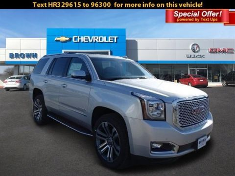 New 2017 GMC Yukon 2WD 4dr Denali Rear Wheel Drive SUV