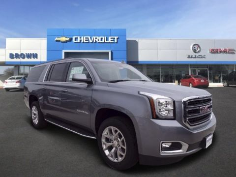 New 2018 GMC Yukon XL 2WD 4dr SLT Rear Wheel Drive SUV