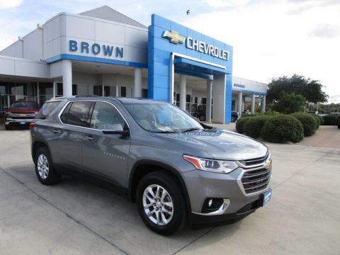 Pre-Owned 2018 Chevrolet Traverse FWD 4dr LT Cloth w/1LT Front Wheel Drive Sport Utility