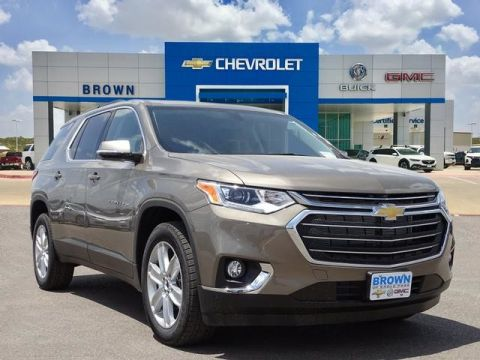 New 2020 Chevrolet Traverse LT Cloth Front Wheel Drive Sport Utility