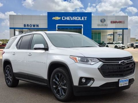 New 2020 Chevrolet Traverse RS Front Wheel Drive Sport Utility