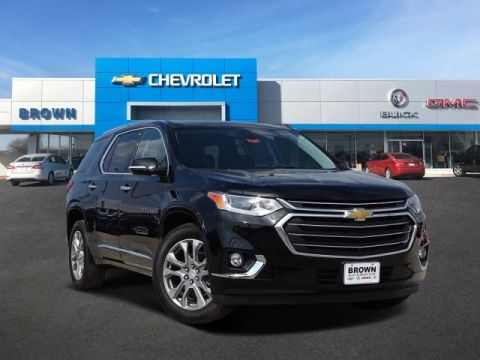 New 2019 Chevrolet Traverse FWD 4dr Premier w/1LZ Front Wheel Drive SUV