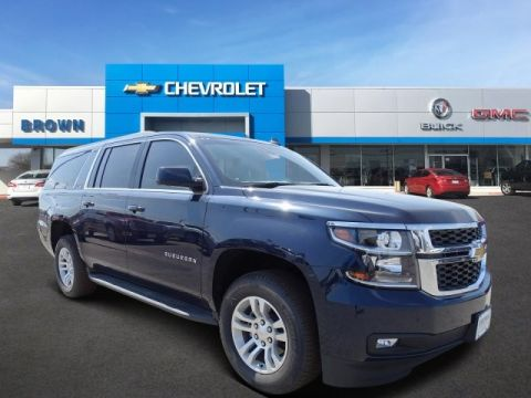 New 2018 Chevrolet Suburban 2WD 4dr 1500 LT Rear Wheel Drive SUV