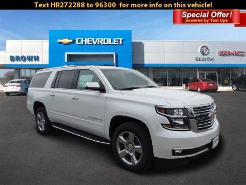 New 2017 Chevrolet Suburban 2WD 4dr 1500 Premier Rear Wheel Drive SUV
