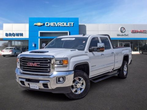 Pre-Owned 2018 GMC Sierra 3500HD SLT Four Wheel Drive Long Bed