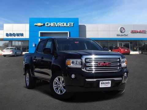 New 2019 GMC Canyon 2WD Crew Cab 128.3 SLE Rear Wheel Drive Short Bed