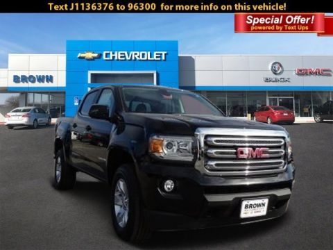 New 2018 GMC Canyon 4WD Crew Cab 128.3 All Terrain w/Cloth Four Wheel Drive Short Bed