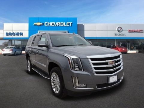 New 2019 Cadillac Escalade 2WD 4dr Rear Wheel Drive SUV