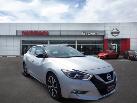 New 2018 Nissan Maxima SL Front Wheel Drive Sedan