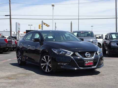 New 2018 Nissan Maxima SV Front Wheel Drive Sedan