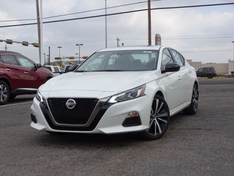 New 2020 Nissan Altima 2.5 SR Front Wheel Drive Sedan