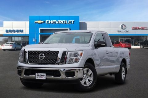 Pre-Owned 2018 Nissan Titan SV Rear Wheel Drive Standard Bed