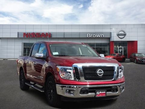New 2018 Nissan Titan SL Rear Wheel Drive Short Bed