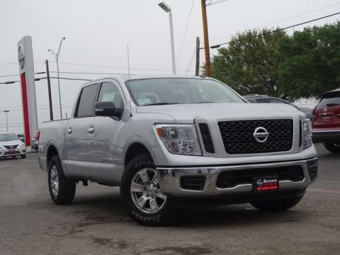 New 2019 Nissan Titan SV Four Wheel Drive Short Bed