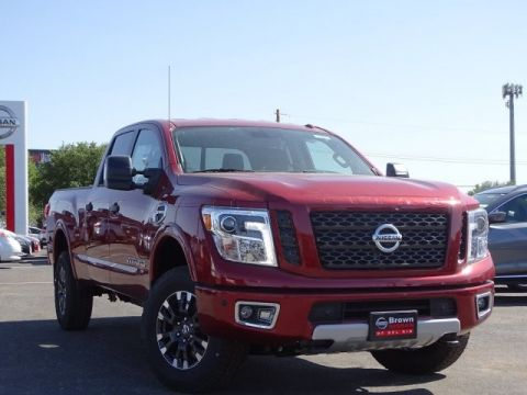 New 2019 Nissan Titan XD PRO-4X Four Wheel Drive Standard Bed