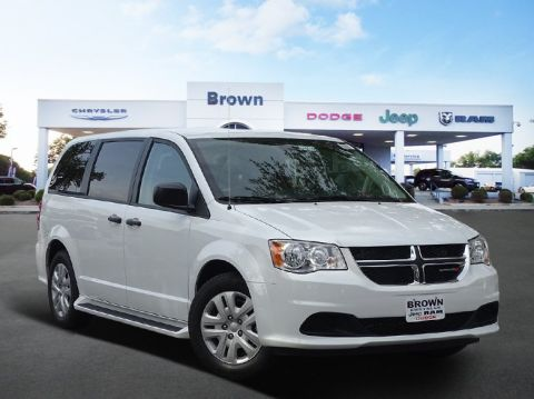 New 2019 Dodge Grand Caravan SE FWD Mini-van, Passenger