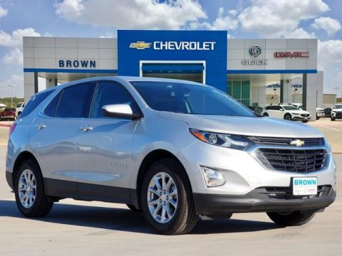 New 2020 Chevrolet Equinox FWD 4dr LT w/1LT Front Wheel Drive Sport Utility